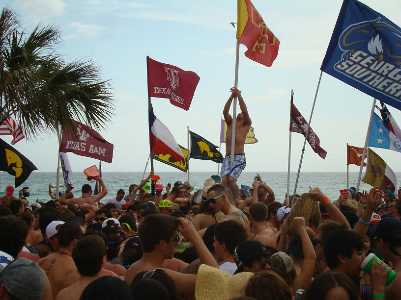 CMG Media Agency spring break beach